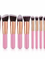 cheap -10pcs set makeup multifunctional soft brushes foundation eyeshadow lip brush tool brush sets