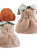 cheap -dog dresses for small dogs dog sweater dress soft warm flannel dogs pullover knitwear fall winter warm dog sweater chihuahua yorkie french bulldog pomeranian