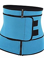 cheap -waist trainer belt for women, neoprene corset cincher trimmer belt body shaper shapewear - blue, xxl