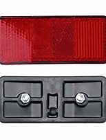 cheap -bicycle taillights rack tail lights safety caution warning reflector disc panier taillight rear reflective hanger bike light, bicycle taillight waterproof mountain road lights