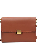 cheap -Women's Bags PU Leather Leather Crossbody Bag Buttons Handbags Daily Outdoor Dark Brown Black Khaki Brown