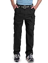 cheap -men's tactical pants lightweight ripstop stretch cargo black 38