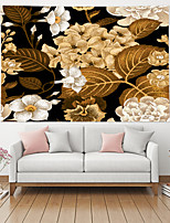 cheap -Wall Tapestry Art Decor Blanket Curtain Hanging Home Bedroom Living Room Decoration Polyester Golden Plant Flower Floral Autumn Style