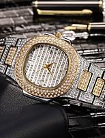 cheap -Women's Quartz Watches Quartz Stylish Fashion Adorable Analog Rose Gold White+Golden Gold / One Year