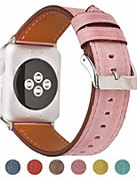 cheap -compatible apple watch band 38mm 40mm for women - leather band compatible iwatch bands/strap for series 4 3 2 1