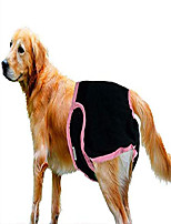 cheap -dog nappies reusable dog sanitary panties comfortable durable pet physiological sanitary pants,black,xl