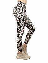 cheap -printed yoga pants for women sexy leopard leggings profession comfortable gym leggingsaisted white