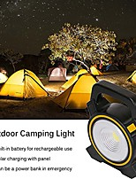 cheap -rechargeable camping lamp portable hiking lantern solar power led camping light lantern outdoor camping hiking reading fishing repairs light