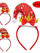 cheap -4 pcs holiday headbands,cute christmas head hat toppers & glasses,flexibility to fit all sizes,great fun and festive for christmas party,christmas dinner,photos boo (set 1)