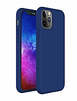 cheap -zuslab case for iphone 11 pro silicone gel rubber bumper cover for iphone 11 pro slim thin hard shell shockproof full-body protective case - blue