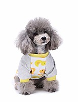 cheap -dog clothes cotton four-legged pajamas knitted pet clothes home wear pajamas comfy cotton pet clothes