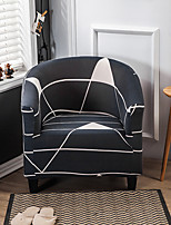 cheap -Geometric Club Chair Slipcover Stretch Armchair CoverSofa Cover Furniture Protector for Living Room Arm Chair Cover Couch Covers