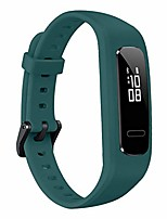cheap -wrist band strap watchband tpu adjustable bracelet sports replacement for 3e/ honor band 4 running version