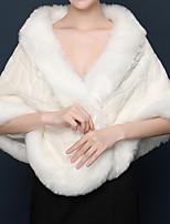 cheap -Sleeveless Shrugs Sweater Wedding Shawl & Wrap With Solid