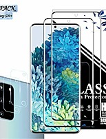 cheap -galaxy s20 plus screen protector + camera lens protector by eeshell, [2 pack + 2 pack] [new version] [case friendly] [fingerprint compatible] [touch sensitive] for samsung galaxy s20 plus