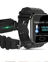 cheap -A6 Sleep HR Blood Pressure Oxygen Monitor IP67 Waterproof Camera Smart Watch