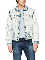 cheap -men's danny convertible denim jacket, light rail, xl