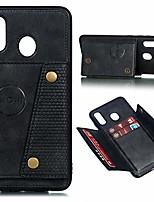 cheap -case for samsung galaxy a20 a30 2019,slim flip cover card slots for samsung galaxy a20 a30 case (black, for galaxy a20/a30)