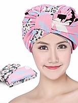 cheap -shower caps reusable for women's, waterproof turban shower caps, suitable for shower ,long hair shower cap & jumbo braid hair cap