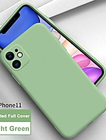 "cheap -[updated] slim liquid silicone case compatible with iphone 11 6.1"", anti scratch & fingerprint, microfiber liner shock absorption gel rubber premium full body drop protection cover case, light"