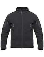 cheap -men's tactical fleece jacket winter warm outwear coat (xxl, dark gray)