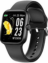 "cheap -smart watch for men women,fitness tracker with 1.54"" full touch color screen,ip67 waterproof pedometer smartwatch with pedometer heart rate monitor sleep tracker for android and ios phones"