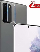 cheap -for samsung galaxy s20 camera lens protector [2 pack], flexible tempered glass [9h hardness] [anti-scratch] [ultra hd] camera protector for galaxy s20 5g - 2 pack