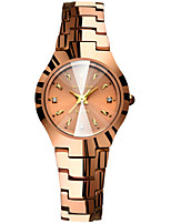 cheap -Women's Quartz Watches Quartz Stylish Fashion Adorable Analog Rose Gold Silver / One Year / Stainless Steel