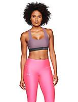 cheap -women's heatgear armour mid impact crossback sports bra , purple prime (521)/purple prime , medium