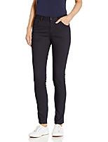 cheap -women's 5 pocket stretch skinny pant, navy blue, 13/14