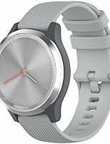 cheap -ticwatch c2 (18mm rose gold) watch bands, 18mm vivomove 3s quick release silicone straps wristband bracelet fit for garmin vivoactive 4s, fossil gen 4 q venture hr (gray)