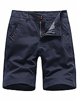 cheap -vekdone mens casual shorts workout comfy chino shorts lightweight summer cargo work shorts(dark blue,34)