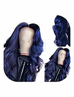 cheap -133 dark blue lace front wigs with pre plucked hairline brazilian body wave lace frontal wig with baby hair remy human hair,14inches,180%