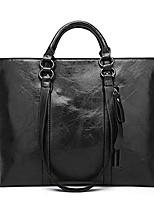 cheap -women fashion minimalist handbag leisure business shoulder bag tote bag orange 13.78''(l) x 4.72''(w) x 10.63''(h)