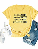 cheap -yellowstone national park shirts for women faithful dutton ranch graphic tee casual camping shirt vacation tops (yellow#1, medium)