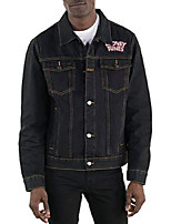 cheap -men's looney tunes denim trucker-indigo m