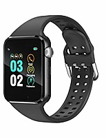 cheap -smart watch compatible ios android iphone samsung for men women, make/answer calls, checking messages support, bluetooth watch fitness tracker with pedometer camera sim sd card slot (black)