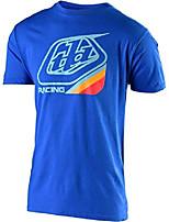 cheap -mens long sleeve vintage race shop t-shirt (x-large, white/black)