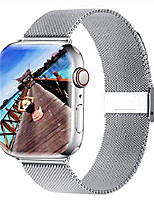 cheap -yaber stainless steel mesh replacement band compatible for aple watch 38 mm 40mm 42 mm 44mm series 6/se/5/4/3/2/1 (silver, 42mm/44mm)