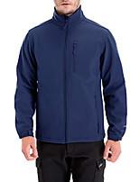 cheap -mens lightweight winter softshell fleece jackets and coats,windbreaker, dark blue, 3xl
