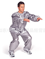 cheap -sauna sweat suit gym exercise suit fitness weight loss slimming fat burn suit (4xl over weight: 220.46lb)