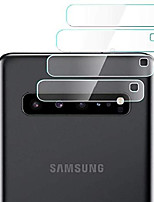 cheap -rear camera lens protector for samsung galaxy s10 5g, 4 pieces clear ultra thin high definition anti-scratch tempered glass back lens cover glass protective film for galaxy s10 5g - transparent