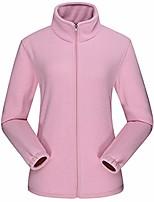 cheap -women's lightweight full-zip polar fleece jacket/w pocket pink x-large