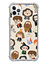 cheap -Funny Case For Apple iPhone 12 iPhone 11 iPhone 12 Pro Max Unique Design Protective Case and Screen Protector Shockproof Back Cover TPU