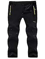 cheap -women's outdoor lightweight quick dry hiking mountain pants 16606 black xl