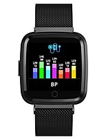 cheap -Goral Y7 Men Women Smartwatch Android iOS Bluetooth Waterproof Heart Rate Monitor Blood Pressure Measurement Sports Calories Burned ECG+PPG Pedometer Call Reminder Sleep Tracker Alarm Clock