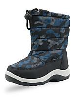 cheap -Boys' Boots Snow Boots PU Snow Boots Little Kids(4-7ys) Walking Shoes Black Blue Winter / Mid-Calf Boots / Rubber