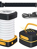 cheap -led camping lantern light - rechargeable led camping light - portable flashlight solar mini torch night light for outdoor hiking tent garden patio emergencies - collapsible and waterproof (renewed)