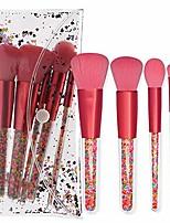 cheap -makeup brush set women's new 5pcs candy makeup brush makeup tool crystal diamond makeup brush, soft bristle, not exciting (color : pink)