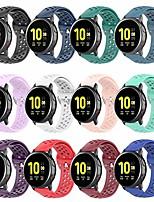 cheap -bolesi 12pcs bands replacement for galaxy watch active2 40mm&44mm,galaxy watch 3 41mm,galaxy watch active 40mm,galaxy watch 42mm,20mm soft silicone strap